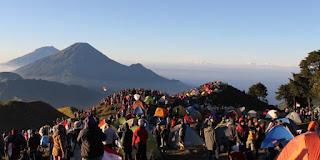 Jalur Pendakian Gunung Prau Yang Lebih Strategis