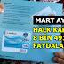 HALK KARTLAR'A MART AYI YÜKLEMELERİ YAPILDI
