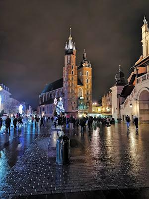 krakow Basilica Santa Maria poland