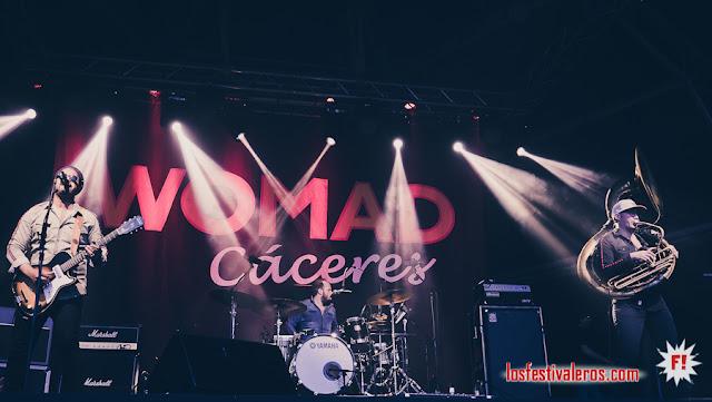 WOMAD FESTIVAL 2019, CÁCERES  / Delgres