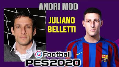 PES 2020 Faces Juliano Belletti by Andri Mod