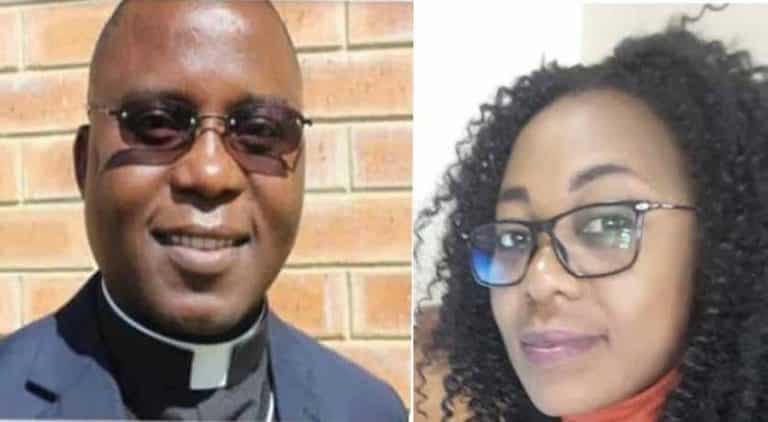 Father Abel Mwelwa and the woman who died