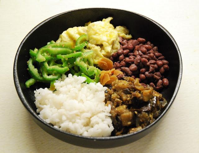 Buddha bowl d'automne japonisant