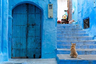 Синий город - Шефшауэн, Марокко