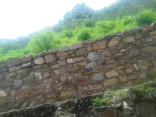 Top floor of Bhangarh palace