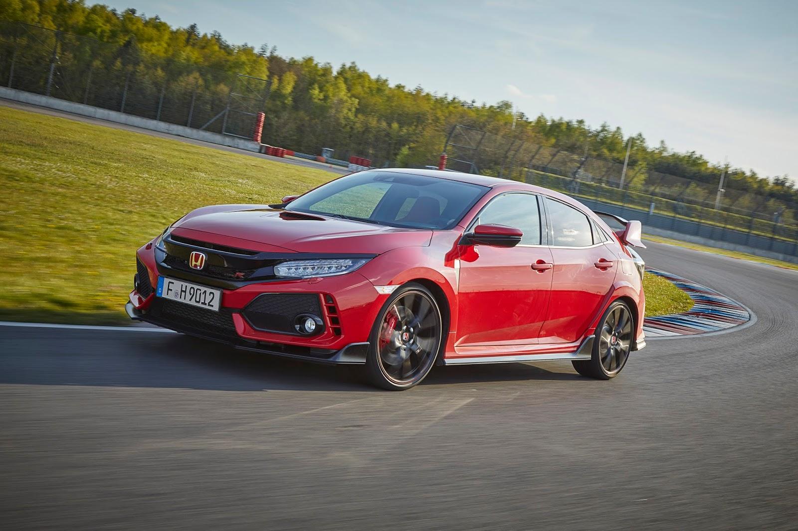 Μεγάλη διάκριση για το Honda Civic Type R που κέρδισε το βραβείο sport auto 2017