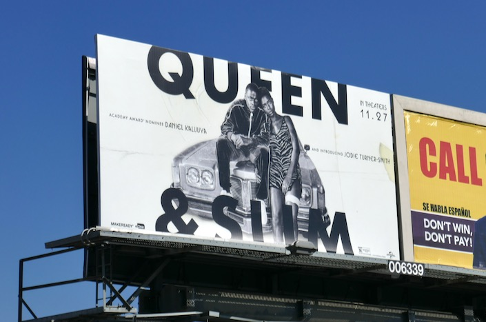 Queen Slim billboard