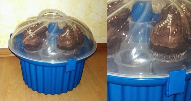 Produkttest Tortenplatten von RBV Birkmann und Cupcake-Transportbox von XENOS 3