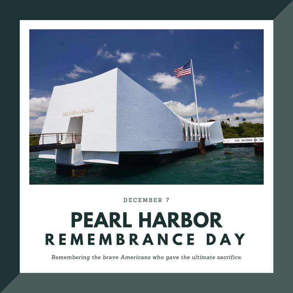National Pearl Harbor Day of Remembrance Wishes Lovely Pics