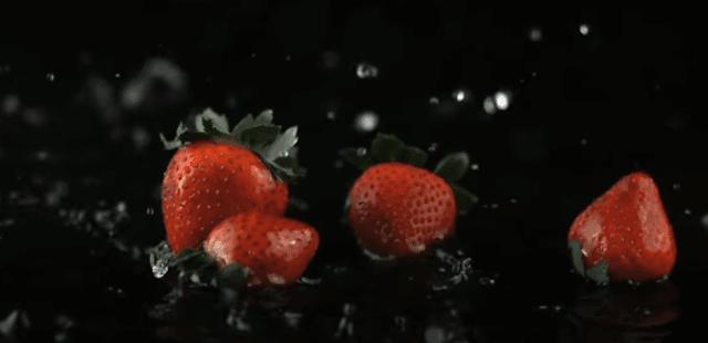 نكهة الفراولة