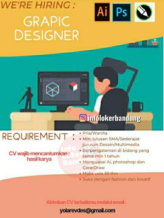 Lowongan Kerja Graphic Designer CV. Groovy Sunday Bandung Mei 2021