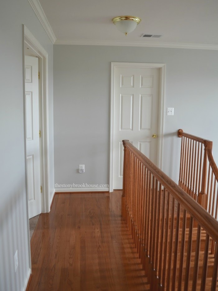 Top of Stairs Before
