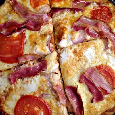 Η πίτσα της τεμπέλας.