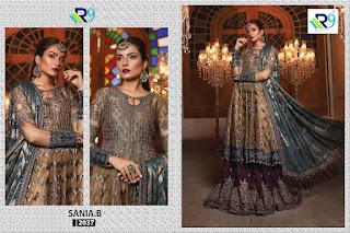 R9 Designer Sania b Pakistani Suits wholesaler