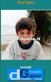 Soluzioni Guess the child footballer livello 38