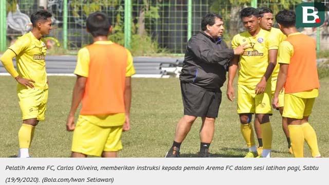 Harapan Pelatih Arema untuk 5 Pemain yang Gabung Timnas Indonesia