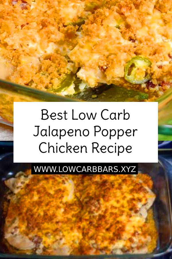 Best Low Carb Jalapeno Popper Chicken Recipe | Low Carb Chicken Recipe | Low Carb Dinner Recipe | Healthy Dinner Recipe #Jalapeno #popper #jalapenopopper #chickenrecipe #chicken #lowcarb #lowcarbchickenrecipe #easychickenrecipe #healthydinner #healthydinnerrecipe #dish #maindish #keto #ketodinner #ketochicken #ketolowcarb #bestdinner #bestchickenrecipe #bestrecipe #recipeoftheday