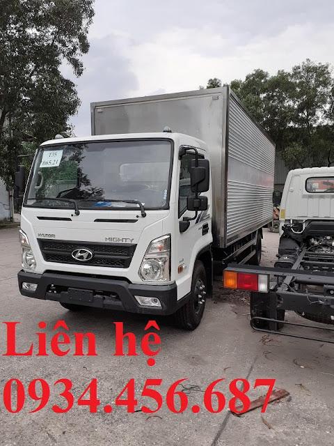 Xe tải Hyundai EX8 đời 2021 thùng kín