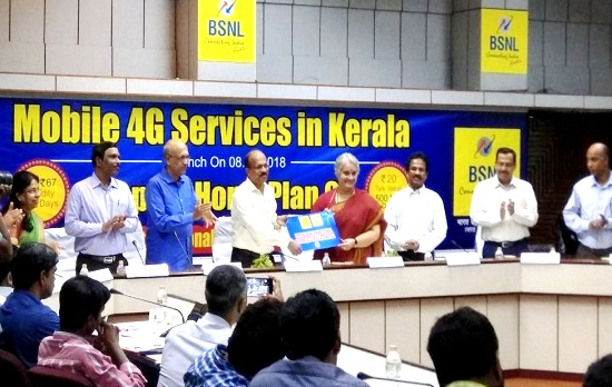 BSNL 4G Mobile services rolled out in Kerala, Launched prepaid international roaming in USA & Nepal