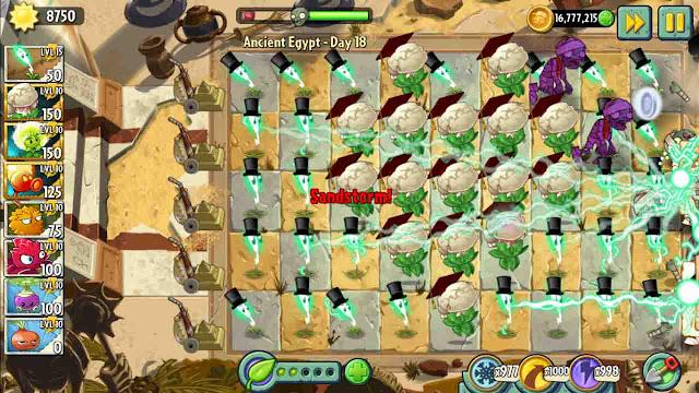 cheat plants vs zombie 2 android tanpa root