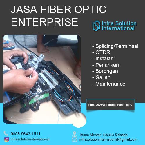 Jasa Splicing Fiber Optic Sampang Enterprise