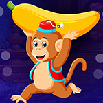 Games4King Running Banana Monkey Escape