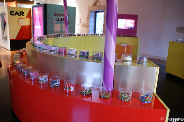 Nella terza sala del Museo Haribo si parla di zuccherro
