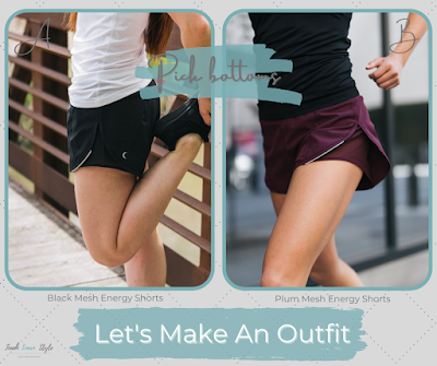 Zyia outfit, zyia summer outfit, zyia shorts, zyia tanks, zyia namaste long sleeve t shirt, zyia sports bras, zyia ponytail hat
