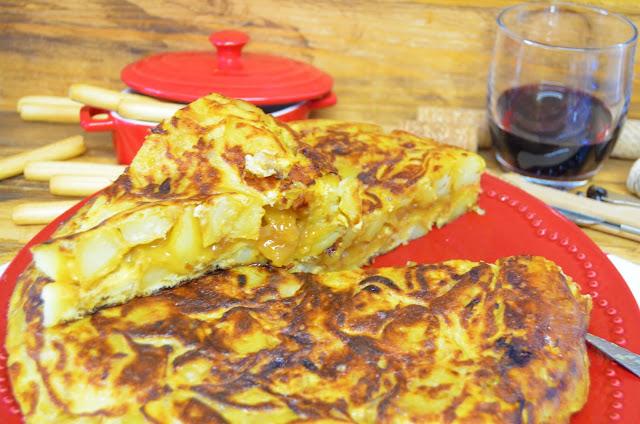 Las delicias de Mayte, recetas saludables, recetas, tortilla con cebolla caramelizada, tortilla española con cebolla caramelizada, receta, recetas de cocina, tortilla con cebolla caramelizada recetas, tortilla con cebolla,