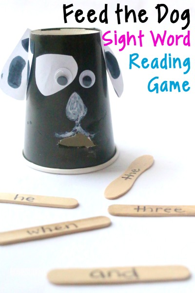 fun sight words game for kids