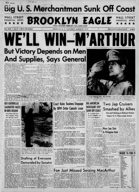 Brooklyn Eagle 21 March 1942 worldwartwo.filminspector.com