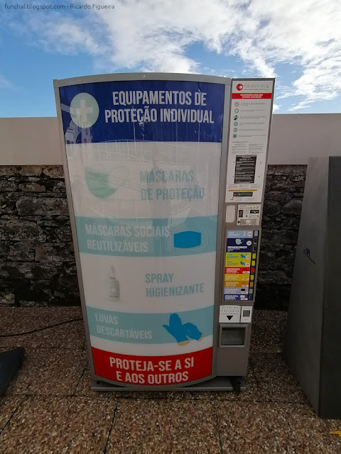 MÁQUINA DE VENDA DE EPI - LIDO - FUNCHAL