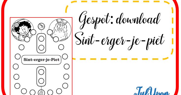 Betere JufYvon: Gespot: Sint-erger-je-piet download spel SU-93