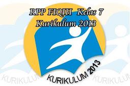 RPP FIQIH  Kelas 7 Kurikulum 2013 Smester 1 dan 2 Tahun 2020 2021