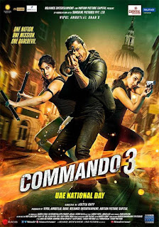 Download Commando 3 (2019) Hindi Full Movie 720p HDRip