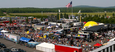 What is Happening at the Tricky Triangle (#NASCAR)