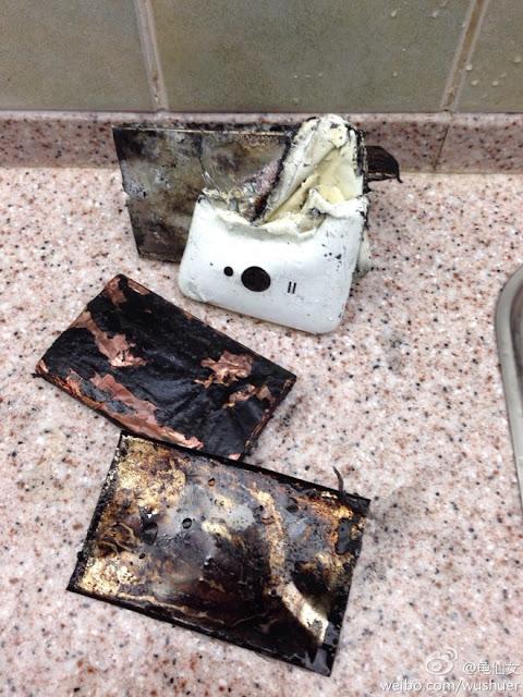 Xiao Mi 2S cũng gặp phải tình trạng cháy nổ tương tự