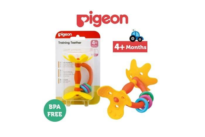 pigeon teether, salah satu rekomendasi merek teether terbaik dan aman untuk bayi