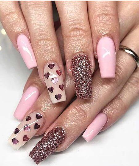 Fed up with your nails and desire they have jazzing up 26+ Cute And Simple Acrylic Nail Art Ideas You May Love