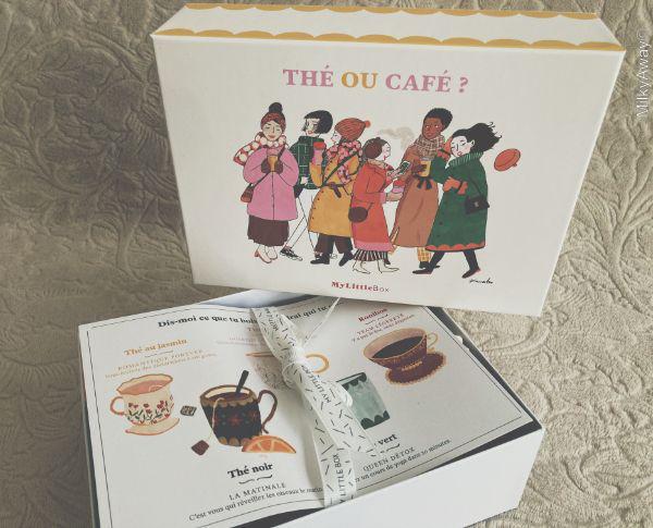 Thé ou Café ? la My Little Box du mois de novembre