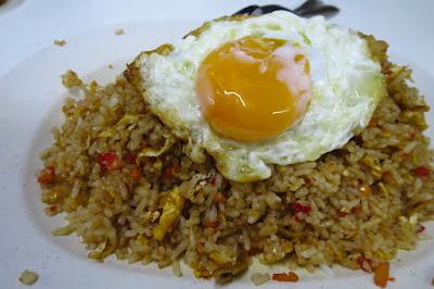 Jia Wang Cafe (佳旺), sambal fried rice
