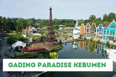 Harga Tiket Masuk Gading Paradise Kebumen