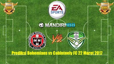 AGEN BOLA - Prediksi Bohemians vs Cabinteely FC 22 Maret 2017