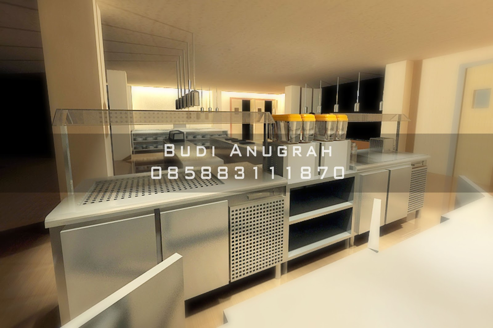 Jual peralatan kitchen equipment stainlees steel restorant hotel se indonesia
