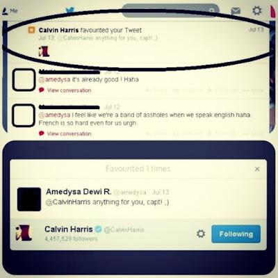 Favorited by Calvin Harris
