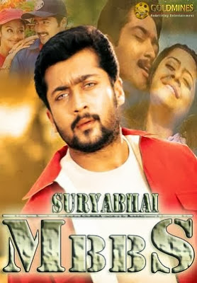 Poster Of Suryabhai MBBS (2000) In hindi dubbed Dual Audio 300MB Compressed Small Size Pc Movie Free Download Only At worldfree4u.com