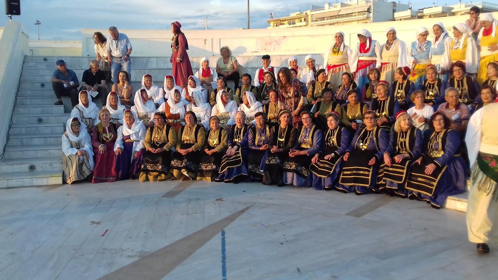 Συμμετοχή του χορευτικού Καπη Φαλάνης στο 3ο Φεστιβάλ χορού Τρίτης Ηλικίας στην Πάτρα