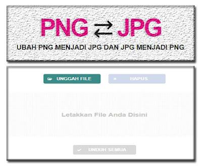 Cara Merubah Gambar PNG Menjadi JPG Dan JPG Menjadi PNG