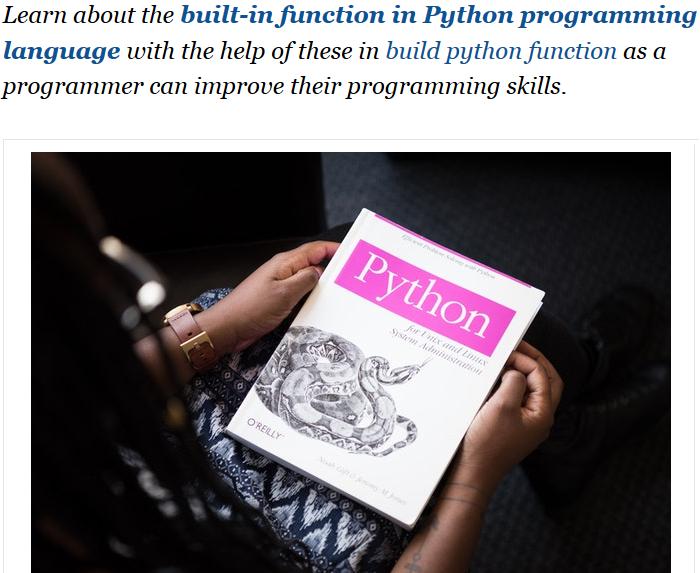 getattr() function in python