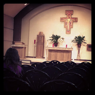 Adoration at St. Angela Merici Catholic Church Missouri City, TX